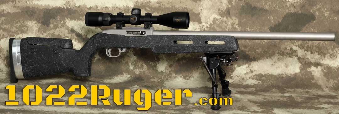 Clark Custom Guns Ruger 10/22 Updated