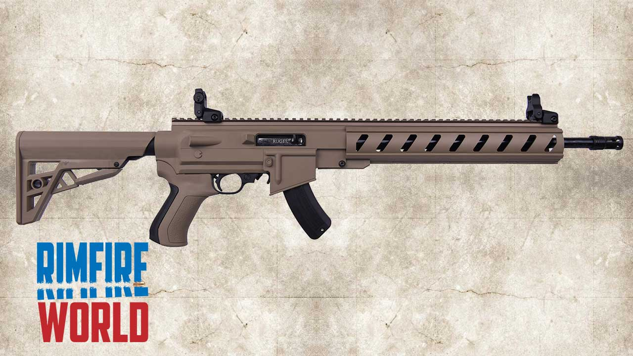 Picture of a Ruger 10/22 Tactical ATI 21144